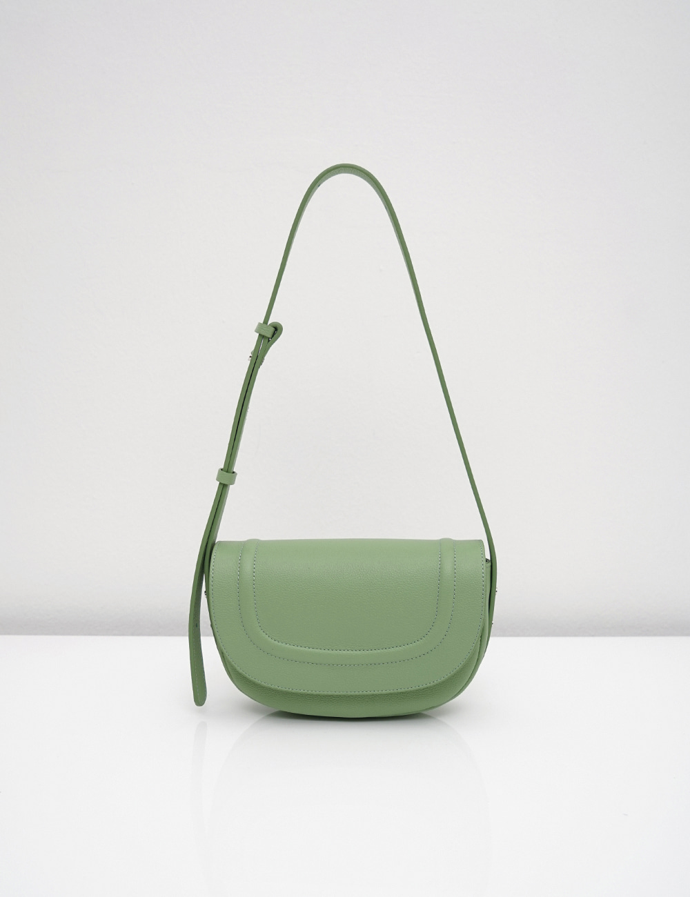 [New Arrivals]Loni small embo / apple green